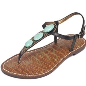 Sam Edelman Giordana Leather Thong Sandals